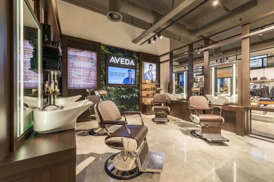 Aveda Barber @ Hudson's Bay Amsterdam by PAC Interiors