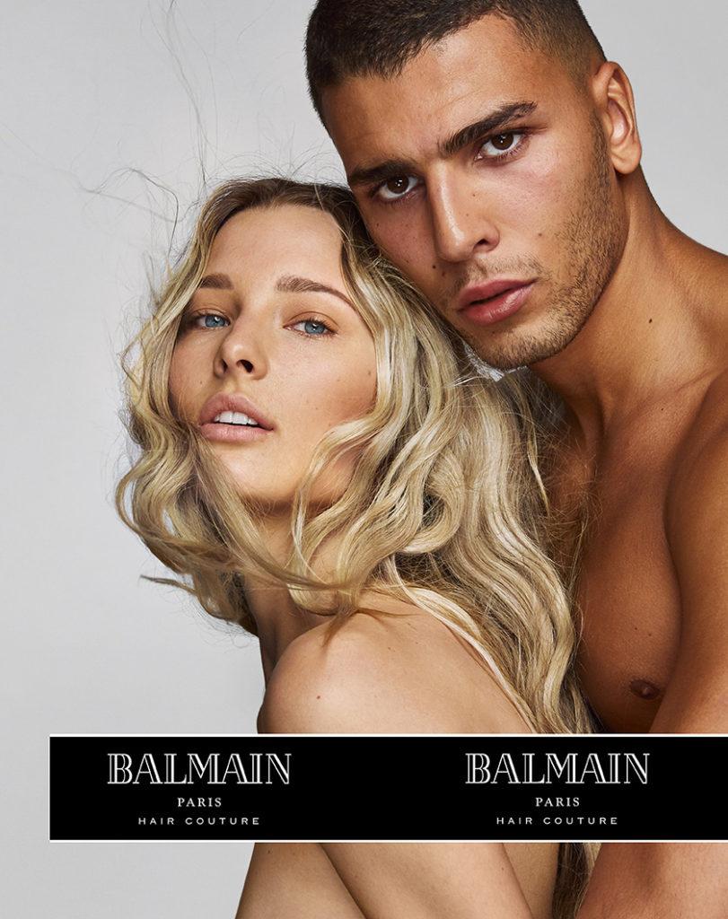 Balmain Paris Hair Couture Spring-Summer 2018 Campaign